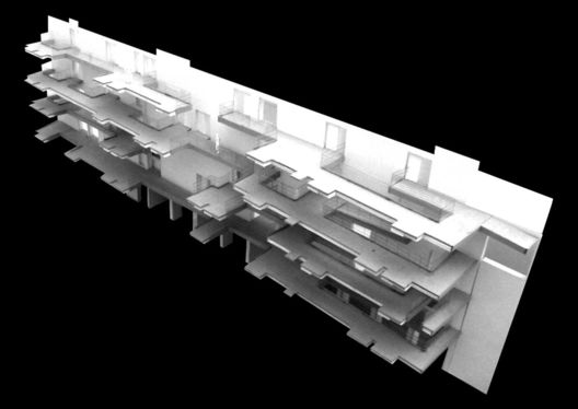 Day Care and Elderly Residential Centre,model