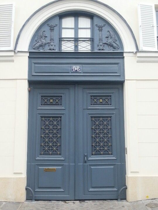 1000 images about front door colours on pinterest front door colours blue - Farrow and ball paris ...