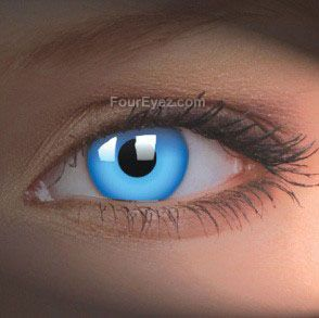 Blue UV Contact Lenses (Pair)
