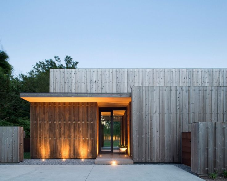 Bates Masi Architects Design A Contemporary Home In Amagansett, New York