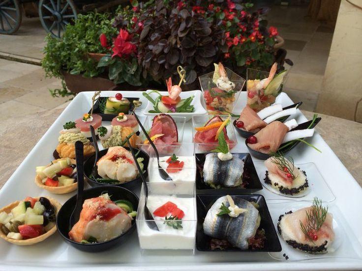 South Italian Wedding and mediterranean finger food