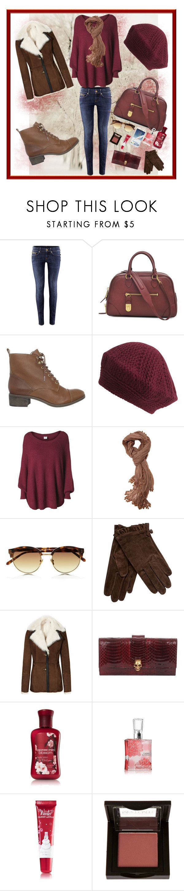 """""""Cherry Blossoms"""" by sophisticated106 ❤ liked on Polyvore featuring H&M, Marc Jacobs, Madison Harding, Jigsaw, Vero Moda, Walnut Melbourne, Linda Farrow, Rocha.John Rocha, Reiss and Alexander McQueen"""