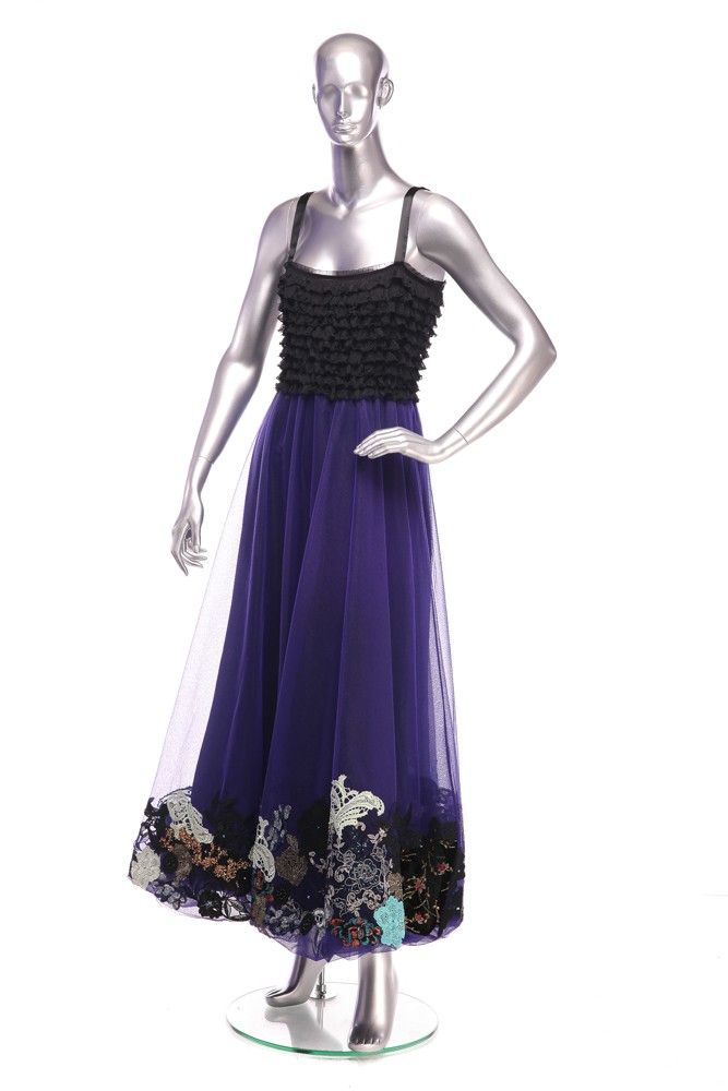 Tulle Dress with applique Composition: 100% silk. Order by phone:  +40 0727 781 988