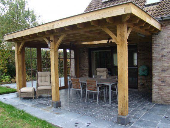 Overdekt terras google zoeken idee n voor het huis pinterest verandas patios and backyard - Terras eigentijds huis ...