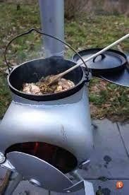 Resultado de imagen de gas bottle wood burner