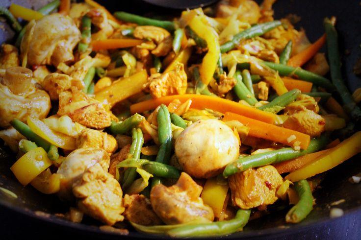 østerssauce wok