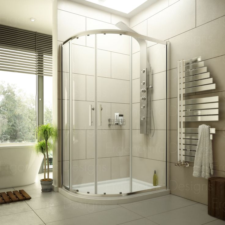 Corner shower enclosures marble effect shower panels