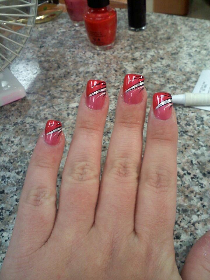 Magnificent Nail Art Red And White Tall Home Cures For Nail Fungus Regular Where To Buy Incoco Nail Polish Strips Marble Nail Art Steps Young Www.nail Art 101.com SoftSimple And Easy Nail Art Videos 1000  Ideas About Two Toned Nails On Pinterest | Nails, Dance ..