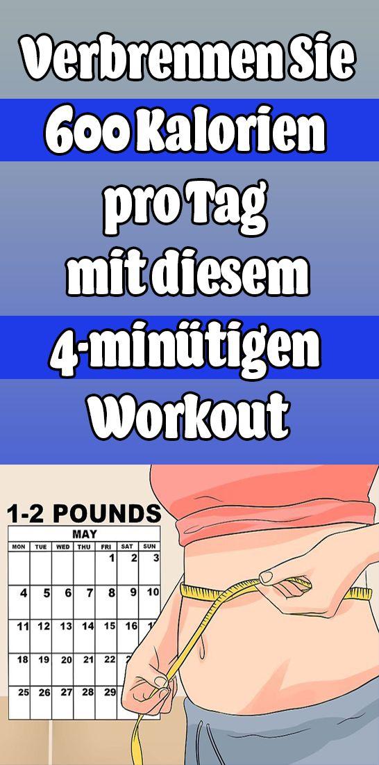 Verbrennen Sie 600 Kalorien pro Tag mit diesem 4-minütigen Workout – Anniken Muller