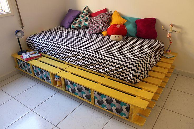 Como fazer uma cama de paletes (supraciclagem)