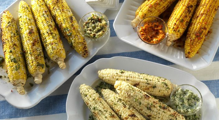 Check out this delicious recipe for Corn on the Cob Three Different Ways from Weber—the world's number one authority in grilling.
