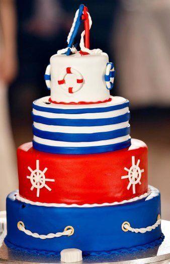 Heiraten Auf Dem Schiff Torte Hochzeitstorten Pinterest
