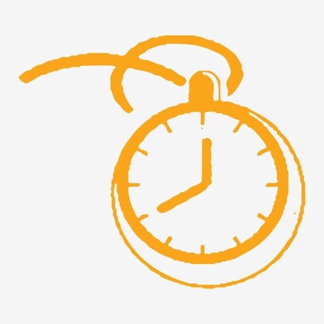 ساعة صغيرة عنصر زخرفي عنصر توضيحي بسيط ساعة صغيرة عنصر مرسومة Png وملف Psd للتحميل مجانا Small Clock Hand Painted Clock