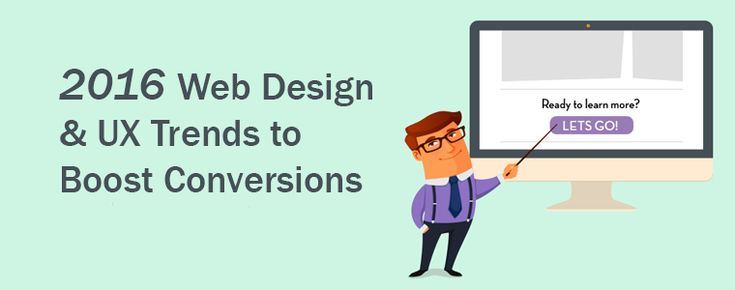 2016 Web Design Trends to Boost Conversions [infographic]:  #ux #ui #webdev