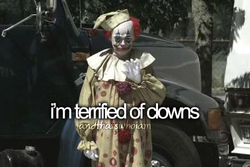 YES!!!! This picture is scaring me soooooooo much but this is something about me btw trying to type this really fast in need of a hero to help get my fear of clowns over!!!!