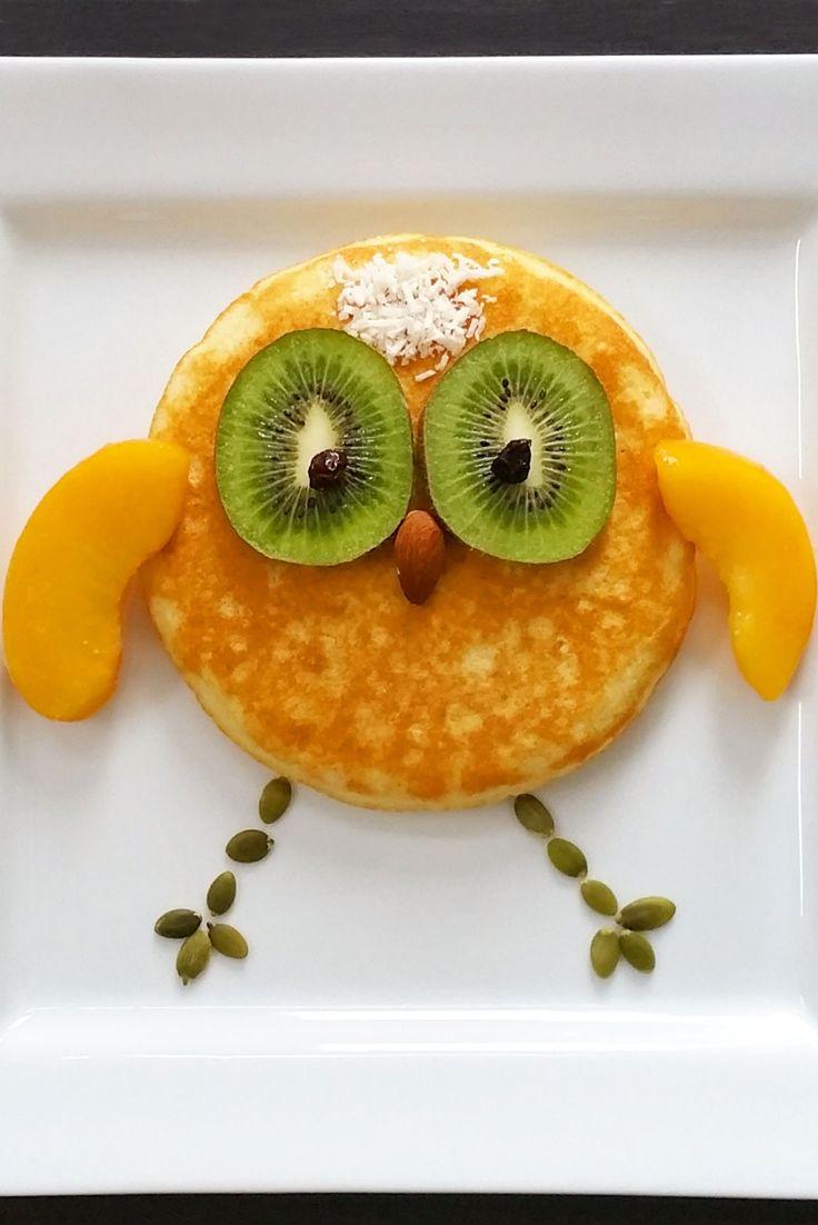 Owl Pancake - Vegan, gluten free