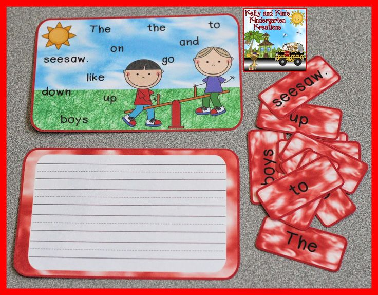 Scrambled Spring Sentences is a fun literacy center to practice reading, sentence structure, language, and comprehension!