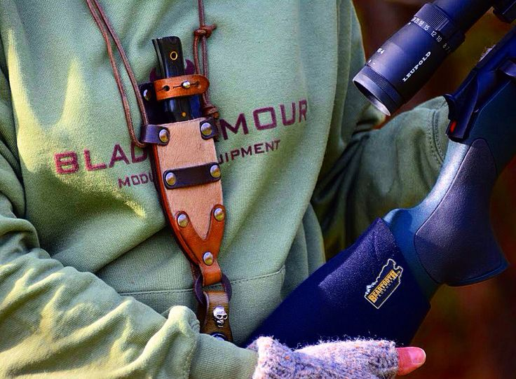 Good day for our #cacciaselettore #womanhunttoo #hunting with #blaserr93 #30-06 #leopold #bladearmour #necknife