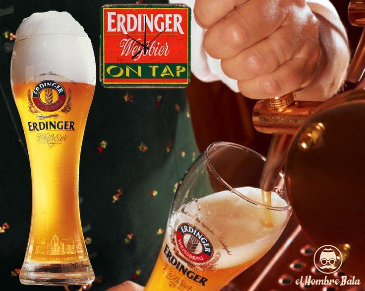 Estrenando nuevo grifo de cerveza: *** ERDINGER Weißbier ***