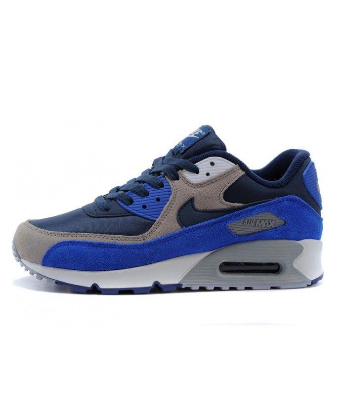 site réputé 08429 ab37d Homme Nike Air Max 90 Dark Gris Bleu Chaussures | Poster in ...