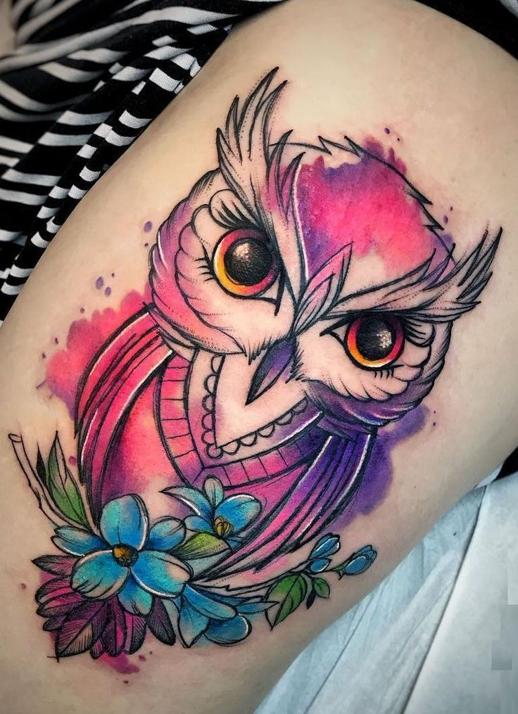 Watercolor Tattoos Transform Your Body Into A Lively