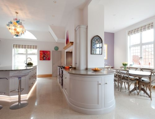 SHABBY CHIC SUBTLE BLEND    THE BRIEF The house was very large family home that had been in the family for many years. We looked at redesigning the kitchen bootroom and laundry together as one. The house was sectioned and dark and needed to
