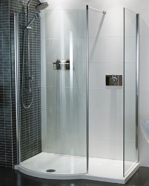 One Piece Shower Units For Additional Bathroom: One Piece Shower Units  Glass Door