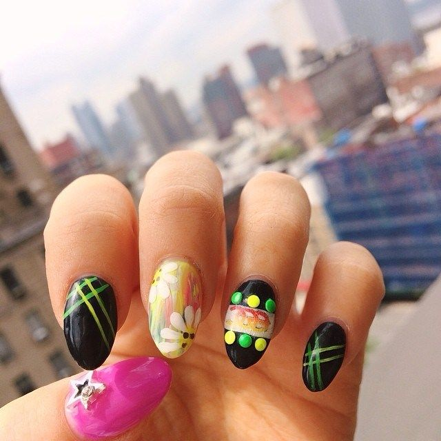 44 best images about music festival nail art on pinterest