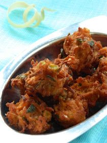 Indian Cuisine: Mixed Vegetable Corn Pakoda Recipe