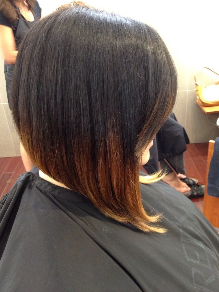 short to long, ombre, long front, lob, bob, side bang ...
