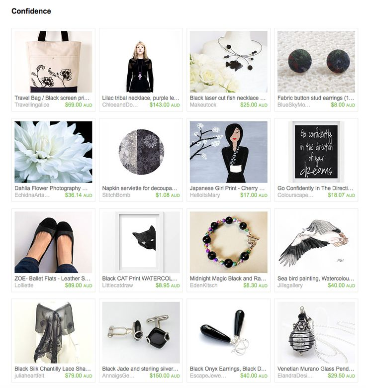 Confidence by Sandra on Etsy