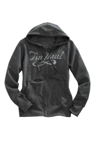TIn Haul - Grey Zip Up Hoodie