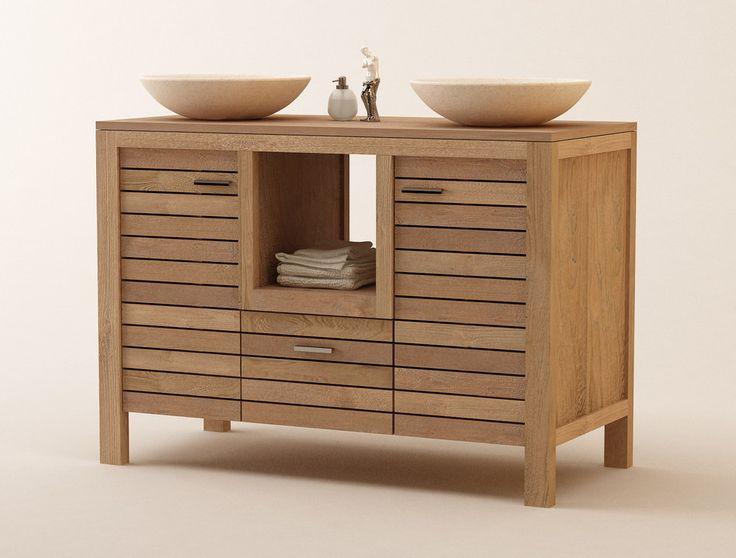17 mejores ideas sobre muebles de teca en pinterest - Muebles de madera para banos ...