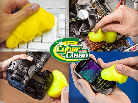 This one is a classic.  Cyber Clean, Rengör din teknik med slime!