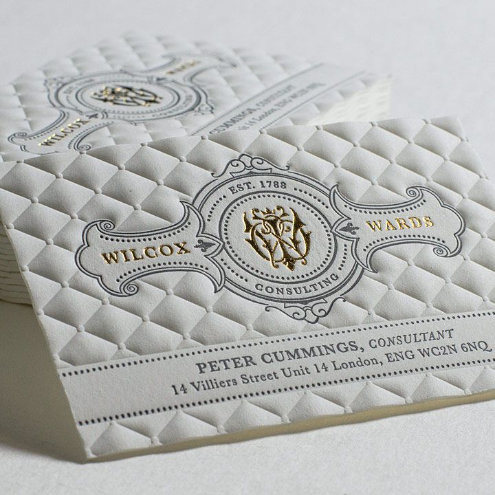 Best 25+ Embossed business cards ideas on Pinterest | Stamped ...
