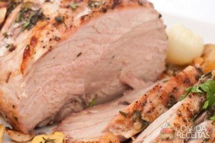 Receita de Lombo assado na cerveja em receitas de carnes, veja essa e outras receitas aqui!