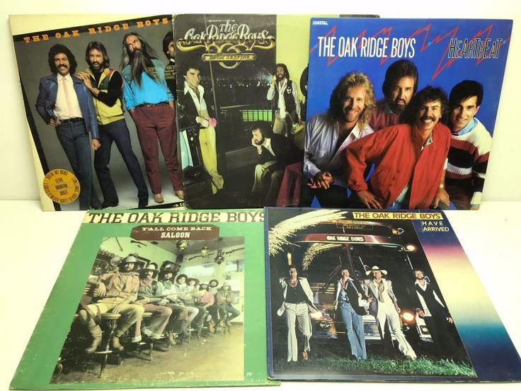 The Oak Ridge Boys LP Vinyl Record Album Lot: Room Service   Heartbeat   Have... stores.ebay.com/capcollectibles