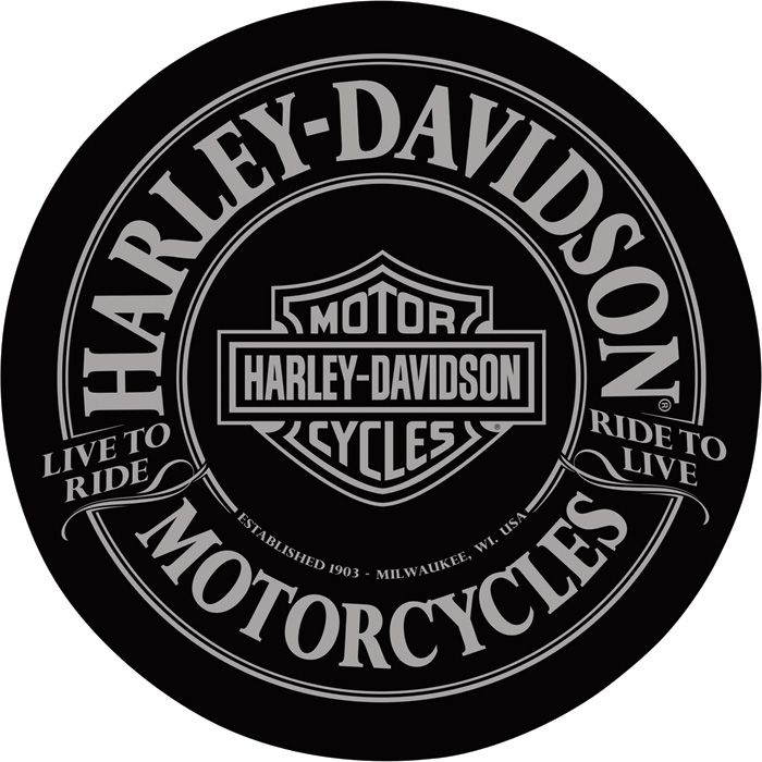 Harley-Davidson Motorcycles Cafe Table