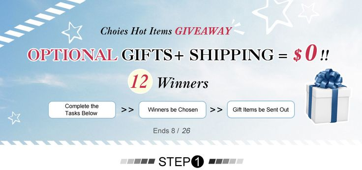 Choies Hot Items Giveaway, Crazy, Amazing & Totally Free!