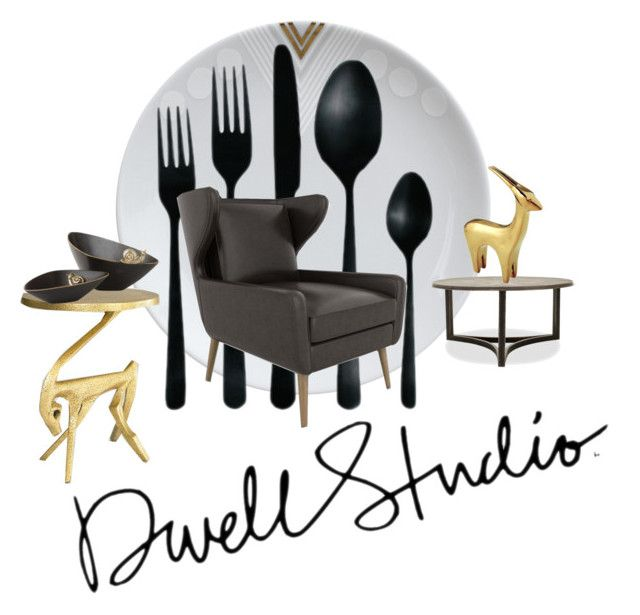 Dwell Studio For Your Holiday Dwelling by betiboop8 on Polyvore featuring interior, interiors, interior design, home, home decor, interior decorating, DwellStudio, holidayhome and dwellstudio