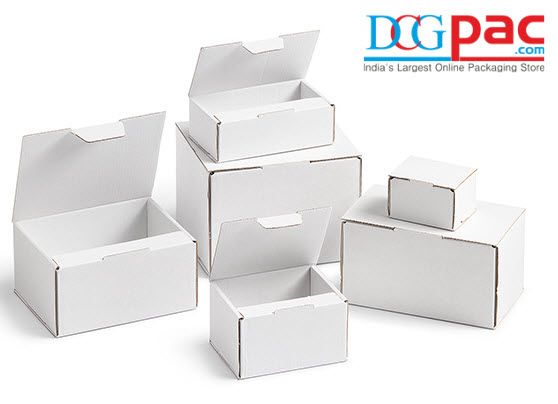 Buy White Corrugated Boxes  #WhitecorrugatedBox #Corrugatedbox #Packagingmaterial