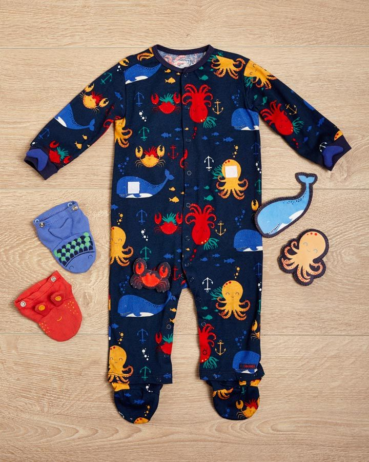 Pajamas for baby boy #ABCEalyLearning #OFFCORSS >> http://www.offcorss.com/newborn