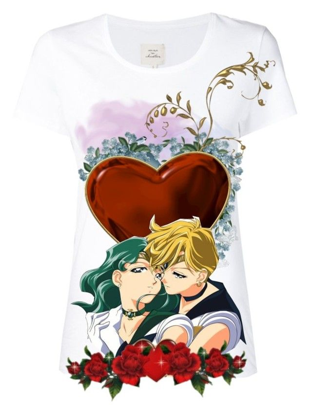 """2063. Destined Couple Shirt Design Contest"" by gothic-pheonix ❤ liked on Polyvore featuring art"