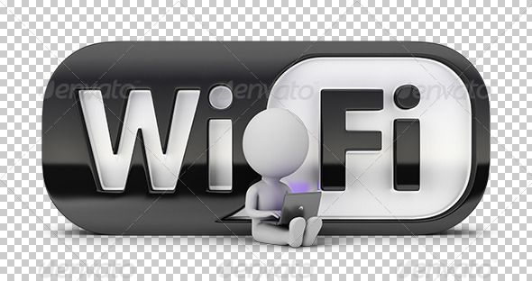 3d Small People Wifi Wifi Wifi Hack Wifi Booster