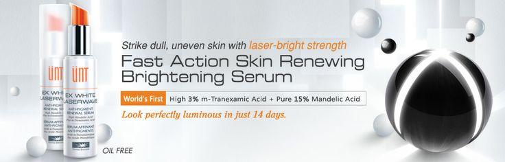 Kết quả hình ảnh cho unt ex white laserwave serum review