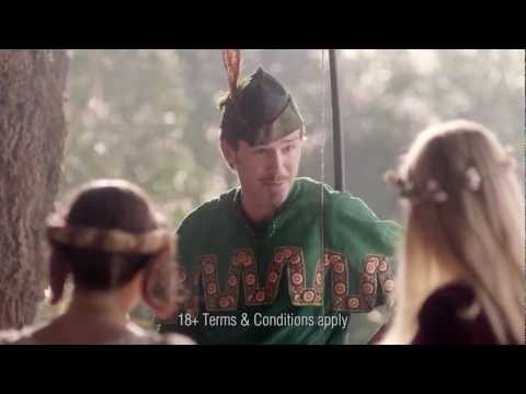 Robin Hood Bingo - New TV Advert! Check out Robin in his tights ;)