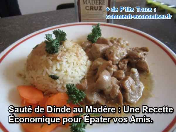 Enfant, je me tenais sur la pointe des pieds pour la regarder nous concocter cette recette typique de la cuisine française. Depuis, j'aime enfiler mon tablier de Chef et offrir ce plat simple et rapide à faire à mes invités.  Découvrez l'astuce ici : http://www.comment-economiser.fr/recette-saute-de-dinde.html?utm_content=buffer0e7e0&utm_medium=social&utm_source=pinterest.com&utm_campaign=buffer