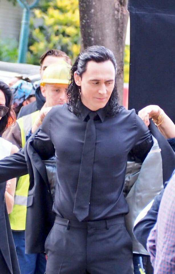 LOKI. LOKI, WHAT ARE YOU DOING. LOKI, WHY ARE YOU IN A SUIT. LOKI, WHY DO I HAVE TO WAIT ANOTHER YEAR TO SEE YOU IN THE MOVIE THEATER.