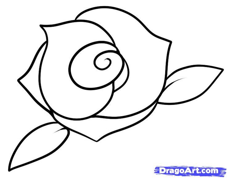 25+ best ideas about Rose drawing simple on Pinterest ...