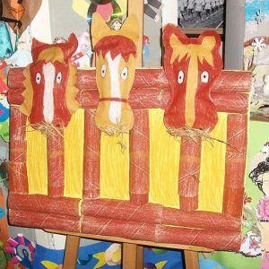 horse craft idea for kids